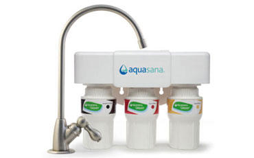 Aquasana 3-Stage Under Sink Water Filter System with Brushed Nickel Faucet Review