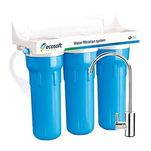 Ecosoft 3 Stage Under Sink Water Filtration System