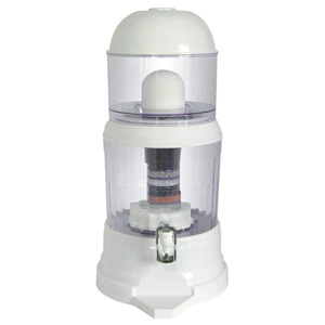 NutriChef Countertop Water Filter Dispenser