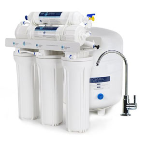 Olympia Water Systems OROS-50 5-Stage Reverse Osmosis Water Filtration System