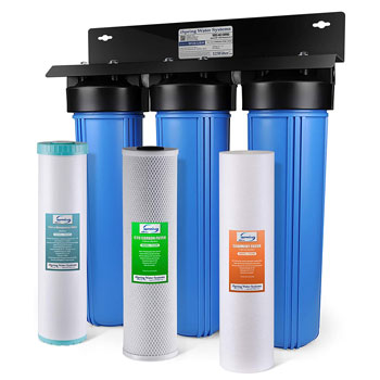 iSpring WGB32BM 3-Stage Whole House Water Filter